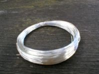 125 Mts of .20mm Silver Plated Non Tarnish Copper Wire